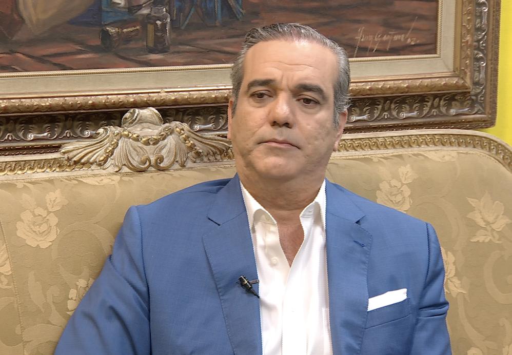 Entrevista Licenciado Luis Abinader 28 Julio 2019