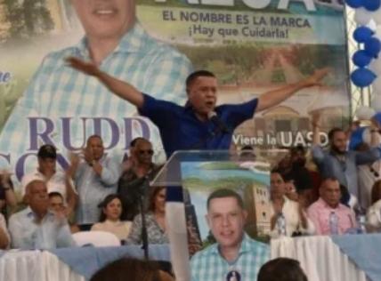 Ruddy González se juramentó ayer en el PRM