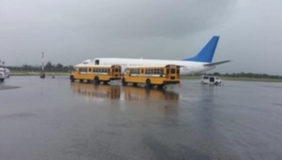 Un total de 75 hombres y cinco mujeres fueron repatriados a República Dominicana por EEUU