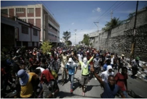 Líderes opositores convocan a movilización el viernes para exigir renuncia de Jovenel Moise