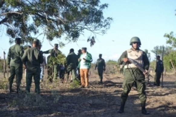 Contingente militar está en las dunas para protegerlas