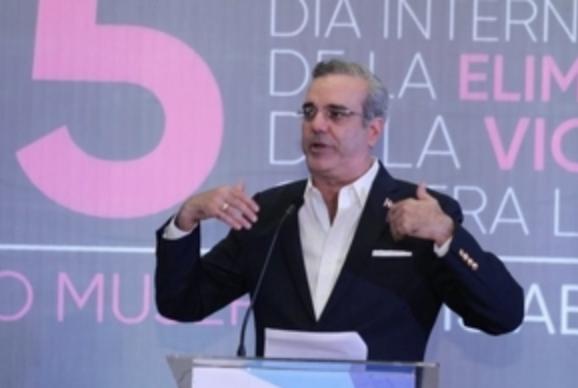 Luis Abinader propone 10 medidas para detener la violencia contra la mujer