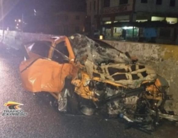 Dos personas muertas tras accidente esta madrugada en Las Américas