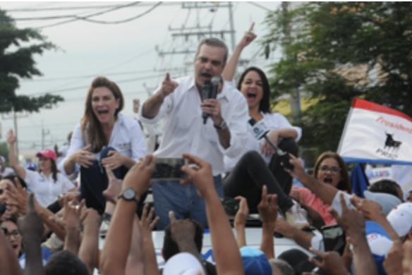 Luis Abinader espera que la Presidencia sea suya en mayo