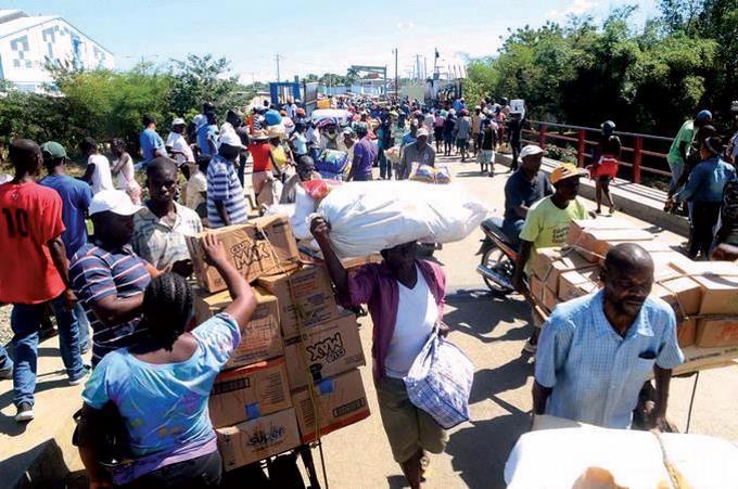 Exportaciones a Haití caen 14.8% durante la pandemia