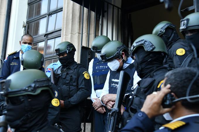 Los primeros presos del gobierno de Danilo