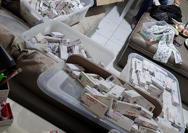 Apresan a seis personas en allanamientos contra red de falsificadores de medicamentos