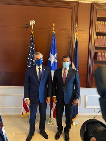 Abinader dice continuará trabajando las relaciones comerciales con Puerto Rico