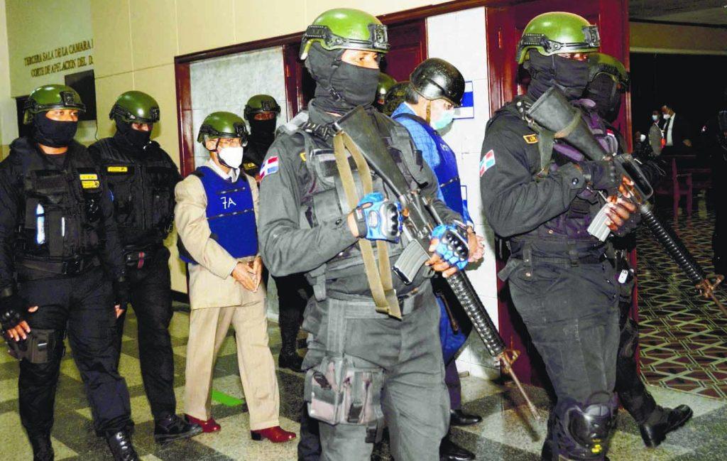 Alexis Medina y otros cinco del caso Pulpo seguirán en prisión preventiva