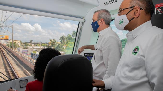 Abinader promete extender Metro de Santo Domingo a Los Mameyes y Los Alcarrizos