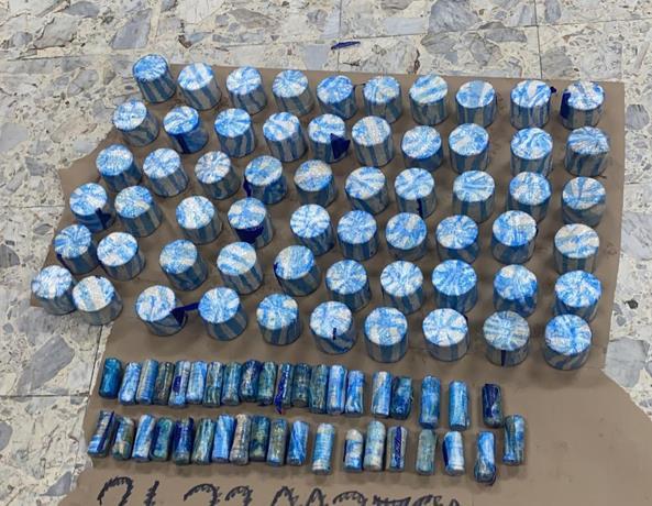 DNCD incauta 19 kilos de cocaína en vehículos que embarcarían a China
