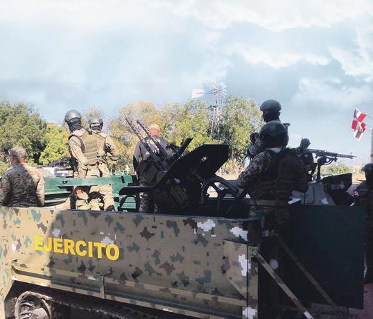 Refuerzan seguridad en la frontera ante disturbios en Haití