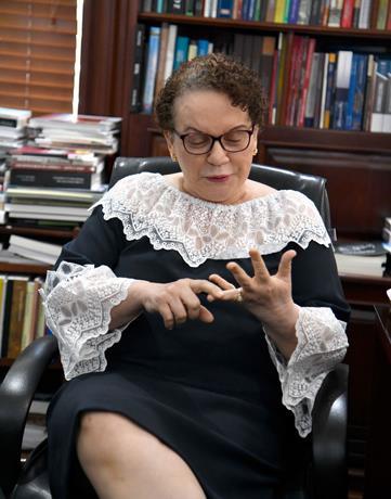 Miriam Germán, opuesta a prisión preventiva de forma alegre