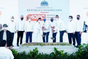 Abinader entrega obras y deja iniciadas otras en La Vega y Espaillat
