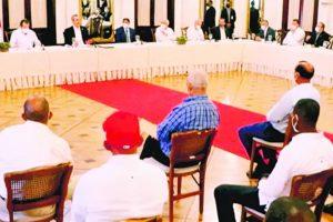 Parceleros plantean a presidente problemas sector